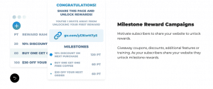 Grow Viral Review Milestone Reward Campaigns